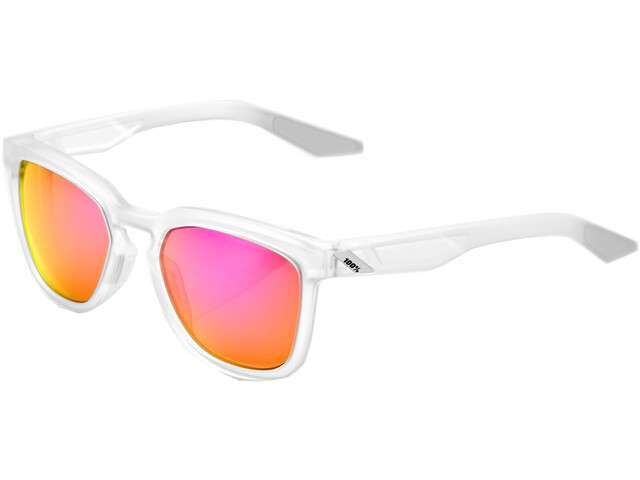 100% Hudson Multilayer Mirror Glasses translucent crystal clear